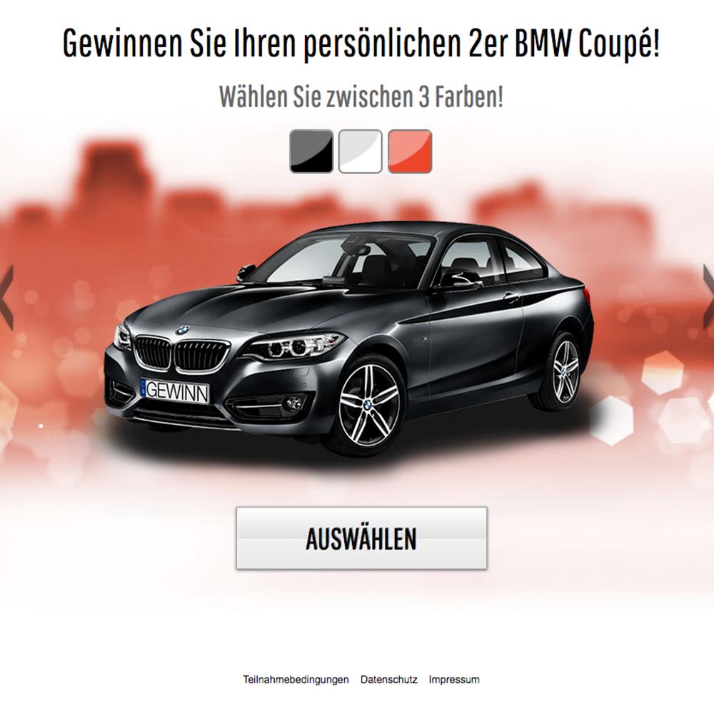 BMW 2er Gewinnspiel (non incent)