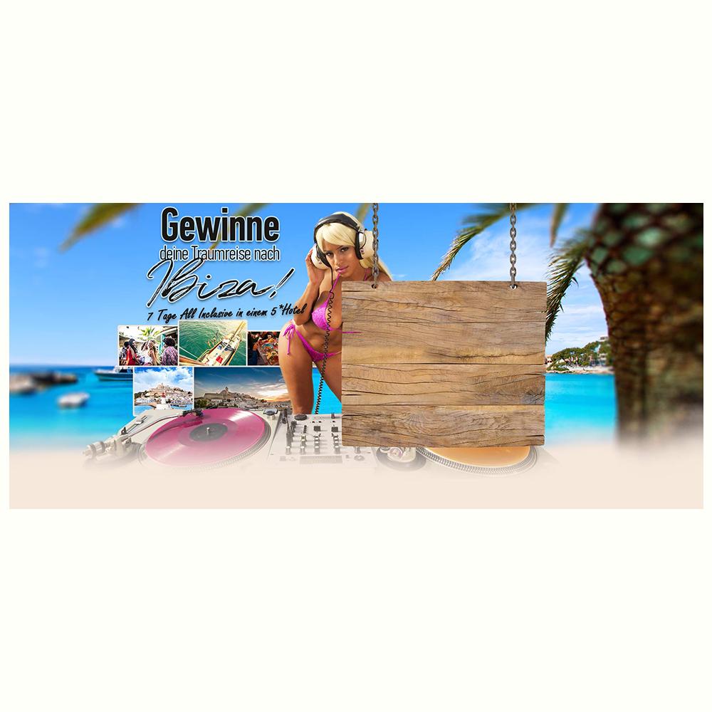 Ibiza - Traumreise Gewinnspiel