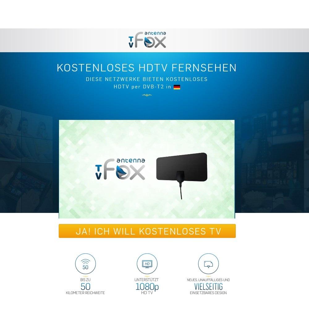 Logo TVFox - DE - (CPM)